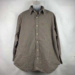 Vintage Polo By Ralph Lauren Brown Shirt XXL